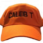 Caleb Orange Cap